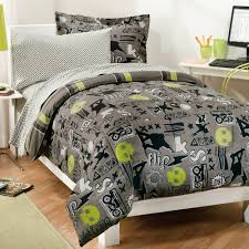 Silver Queen Comforter Set Bedding Set Splendid Astonishing Black Grey And Silver Bedding