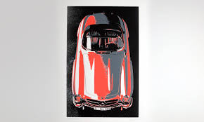 mercedes benz classic cars as themes for special works of art