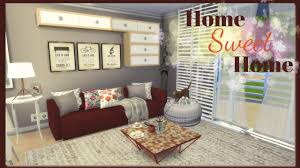 Sweet Home Interior Design by Sims 4 Home Sweet Home Part1 Youtube