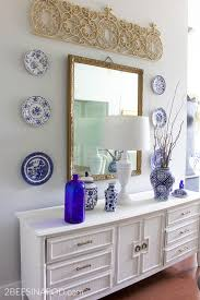 blue and white home decor decorating with blue and white and brass how to get the look now