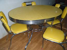 retro yellow kitchen table kitchen awesome 1950s formicaen table and chairs picture concept