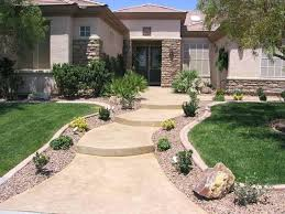 easy front yard landscaping tree front yard designs simple small