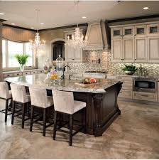luxury kitchen island kitchen there s nothing more luxurious than plush chairs like the