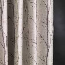 fibre naturelle burley tree fabric silver birch at the designer