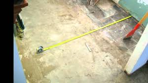 how clean should your concrete foundation be tile installation