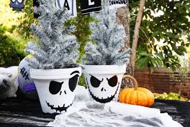 jack skellington flower pot disney family