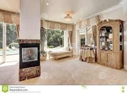 Interior Photos Luxury Homes Large Master Bedroom Interior In Luxury Home With Sitting Room