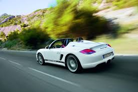 porsche boxster rear porsche adds 2011 boxster spyder to roadster lineup new on