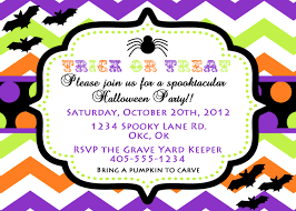 halloween party invitation blank u2013 festival collections