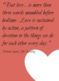 wedding quotes nicholas sparks quotes images sweet bedtime quotes for him