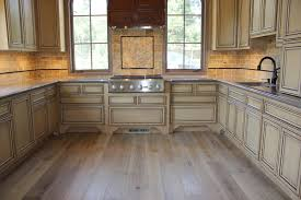 Hardwood Floors In Kitchen Kitchen Contempo Ideas For Kitchen Decoration Using Oak Wood