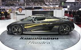 supercar koenigsegg price one off koenigsegg with gold leaf inlays celebrates 10 years 100 cars