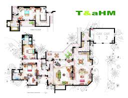 accurate floor plans of 15 famous tv show apartments two u0026 a