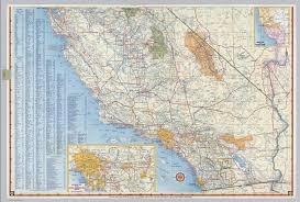 Cal Map Map Southern California Overview Southern California Beach City