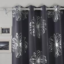 Schlafzimmerm El Bio Amazon De Deconovo Gardinen Blickdicht ösen Vorhang Deko Blumen