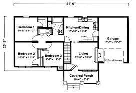 2 bedroom ranch house plans three bedroom ranch house plans beautiful collection of 3 bedroom