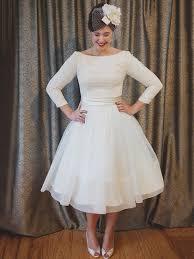 tea length wedding dresses uk tea length wedding dresses gowns in 50s style c millybridal uk
