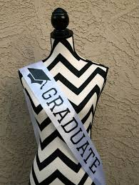 highschool graduation gifts graduate sash graduation sash graduation party sash