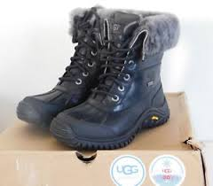 ugg s adirondack ii boots black grey dg bx womens 5 5 black grey ugg adirondack ii event waterproof