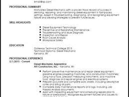 mechanic resume template 8 hvac technician resume samples resume