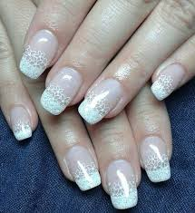 french white nails how you can do it at home pictures designs