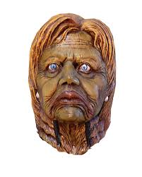 hillary clinton zombie mask politicians mask for halloween
