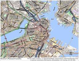 Map Of Boston by Boston Maps Massachusetts Us Maps Of Boston A Lesson On New