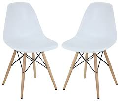 White Plastic Dining Chair Exquisite White Plastic Dining Chairs Two Plastic Side Chairs In