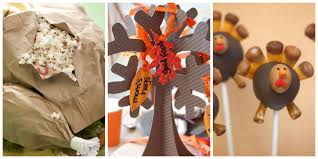 decor thanksgiving table decorations for kids to make craftsman