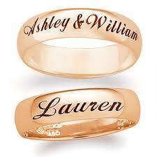 wedding ring names wedding ring with name images