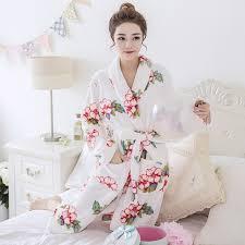 robe de chambre kimono pour femme robe femmes peignoir pour l hiver nouvelles femmes flannle robe