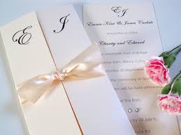 gatefold wedding invitations design of the day canonbury gatefold invitation with satin