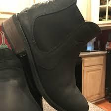 s ugg australia light grey bonham chelsea boots 53 ugg shoes ugg bonham ankle boot w wood heel from