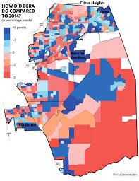 Sacramento Ca Map How Did Ami Bera Defeat Scott Jones The Sacramento Bee
