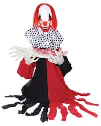 cannibal clown animated prop 323419 trendyhalloween com