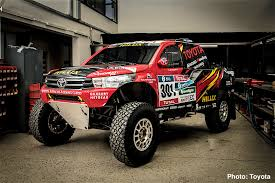 rally truck suspension carnichiwa toyota hilux evo mid engine v8 truck revealed u2013 2017