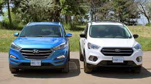 hyundai tucson comparison 2017 ford escape vs 2016 hyundai tucson