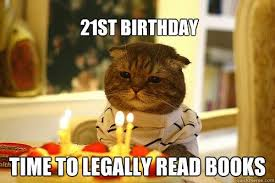 21st Birthday Memes - 20 outrageously funny happy 21st birthday memes