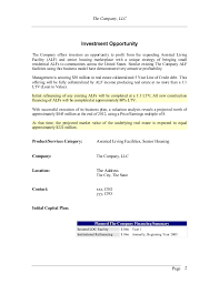 assisted living business plan dewitt