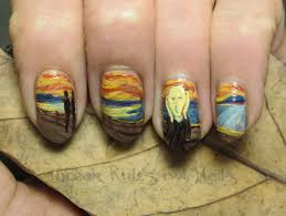 nail art dreaded painted nail art images ideas top best on