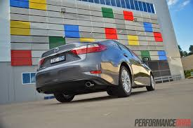 lexus es 350 specs 2014 lexus es 350 sports luxury review video performancedrive