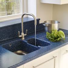 Blue Kitchen Sinks Be Inspired By A Spacious Kitchen Extension Corian Kitchen