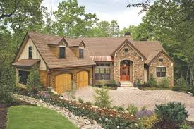 creative craftsman house plans with walkout basement home design