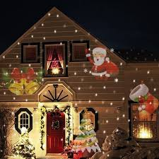 best led laser christmas lights 12 types christmas laser snowflake projector outdoor led l