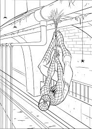 cool idea spiderman printable colouring pages 7 black color