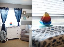 Nautical Themed Baby Rooms - baby everett and his nautical themed nursery the little umbrella