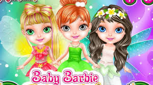 baby barbie fairy salon barbie baby games fairy makeover game make up