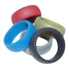 silicon wedding ring silicone wedding ring 5 pack by country bound premium quality