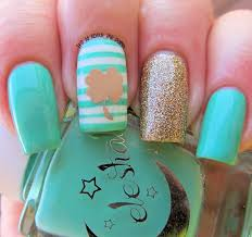 it u0027s all about the polish two st patrick u0027s day nail designs