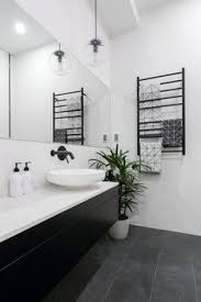 black and white bathroom design an affordable black and white and modern renovation glass doors